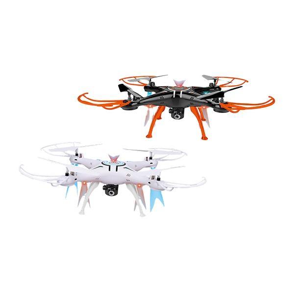 2.4G 6 Channel four Quadcopter Remote Control Drone Helicopter Toys With USB Black and White Color For sale
