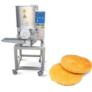 JUYOUStainless steel Automatic Burger Patty Forming Machine With good price/meat pie making equipment/beef Patty forming machine