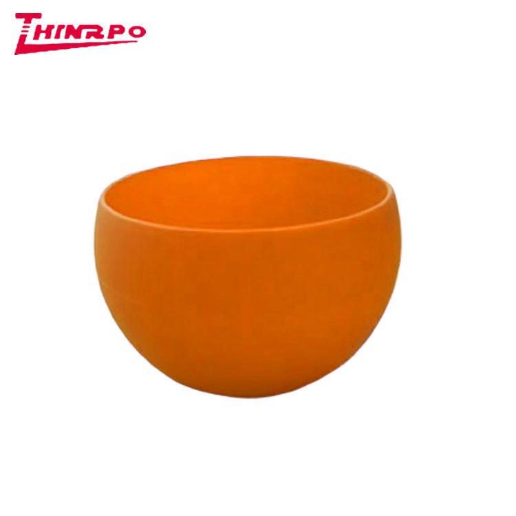 Eco Friendly Anti-drop Silicone Bowl Odorless Facial Mixing Bowl Home Use Silicone Cosmetic Mixing Bowl
