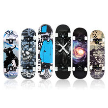Wholesale cheap 7 Layers Maple professional Cruising Wood complete skateboards