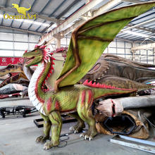 waterproof attractive animatronic dragon