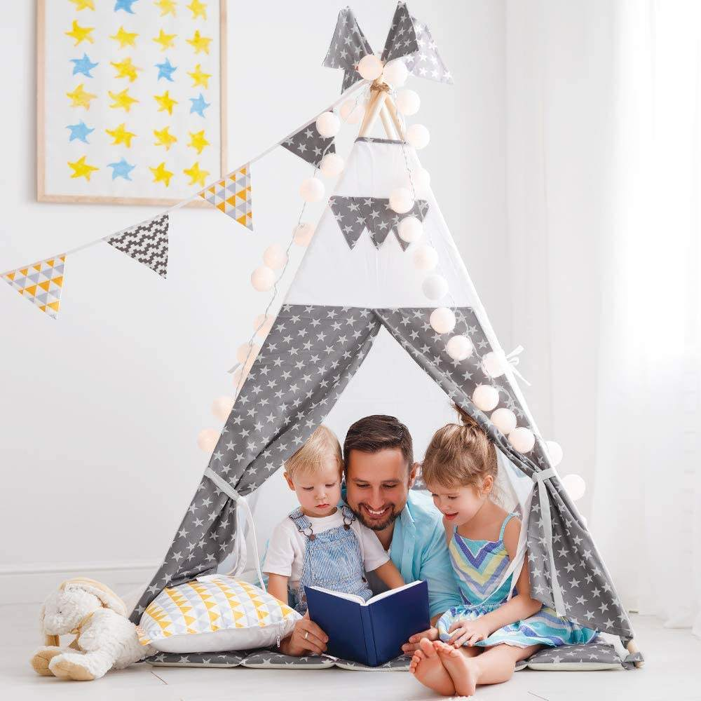 Factory 2020 Hot Sale Play House For Kids Big Popular Design Products Tent Toy Kids Play Tent Canvas Children's Teepee Tents