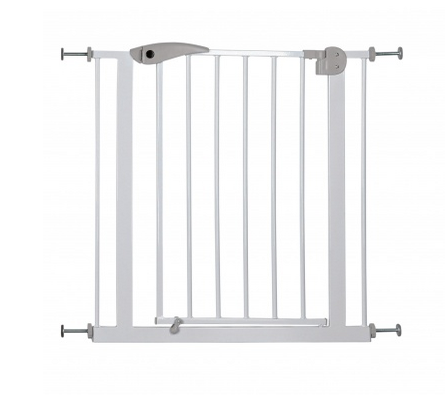 Home indoor metal baby gates stair gate for children retractable pet gate
