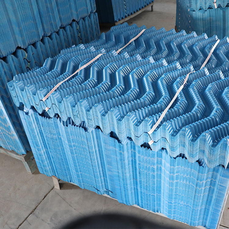 Cooling tower packaging materials Cooling tower rigid plastic plates