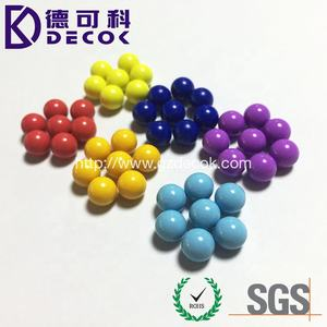magnetic steel ball with color coating 12.7mm 17mm colorful carbon steel ball