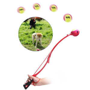 Outdoor Pet Training Exercise Toy Pet Dog Toy Tennis Ball Launcher Dog Toy