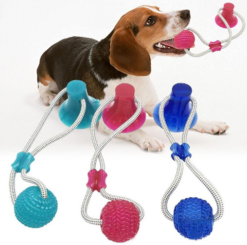 Pet Sex Toys For Cat Rubber Dog Rope Ball 2020 Accessories Item Animals Dogs And Products Supply Wholesale Unique