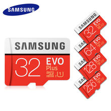 Original SAMSUNG micro EVO Plus micro SD Card 64GB memory flash TF card