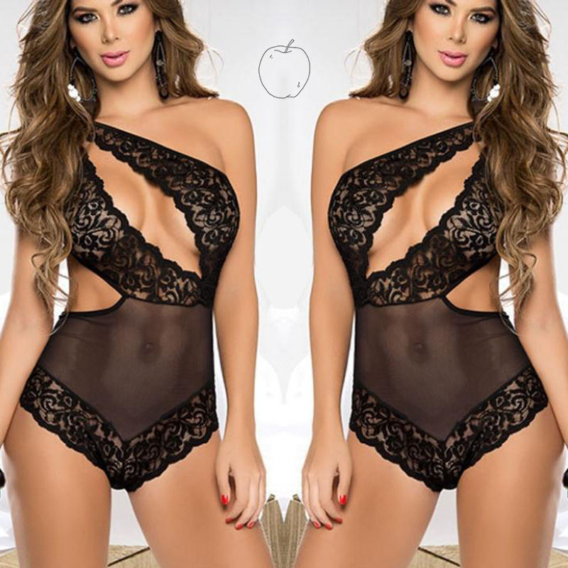 Hot sexy lace underware full of design per spective lingerie sexy sleepwear for woman