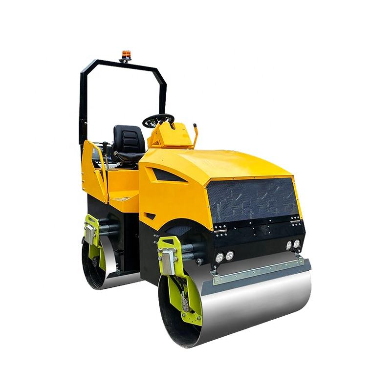 Hydraulic double 3 ton vibratory road roller for sale