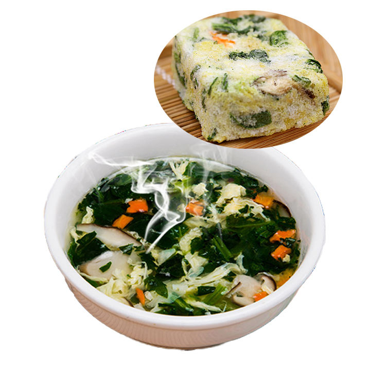 Best selling product china food freeze dried egg soup