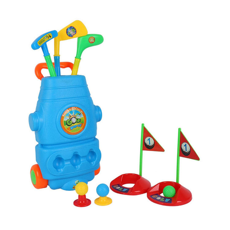 High Quality Outdoor Exercise Funny Game Kid Set Boy Golf Toy