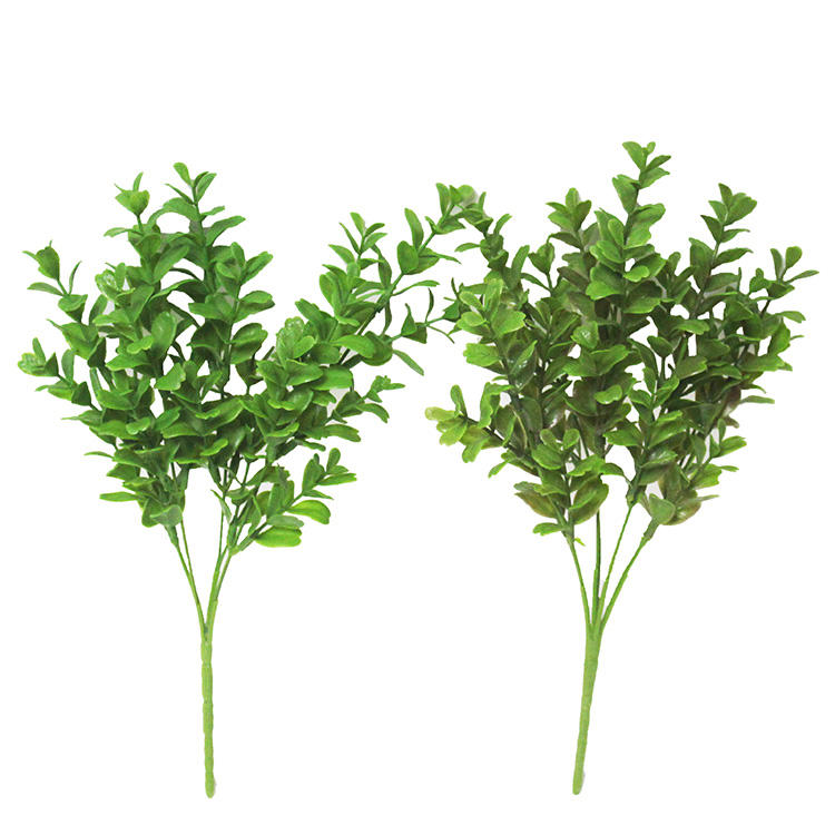 faux green leaves plastic branches boxwood backdrop floral arrangements artificial boxwood leaves artificial foliage
