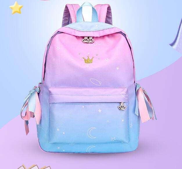 2019 New Fashion Children School bags For Girls Primary School Book Bag School Bags Printing Backpack