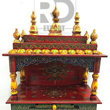Wholesale Handmade Beautiful Wooden Temple Design For Home
