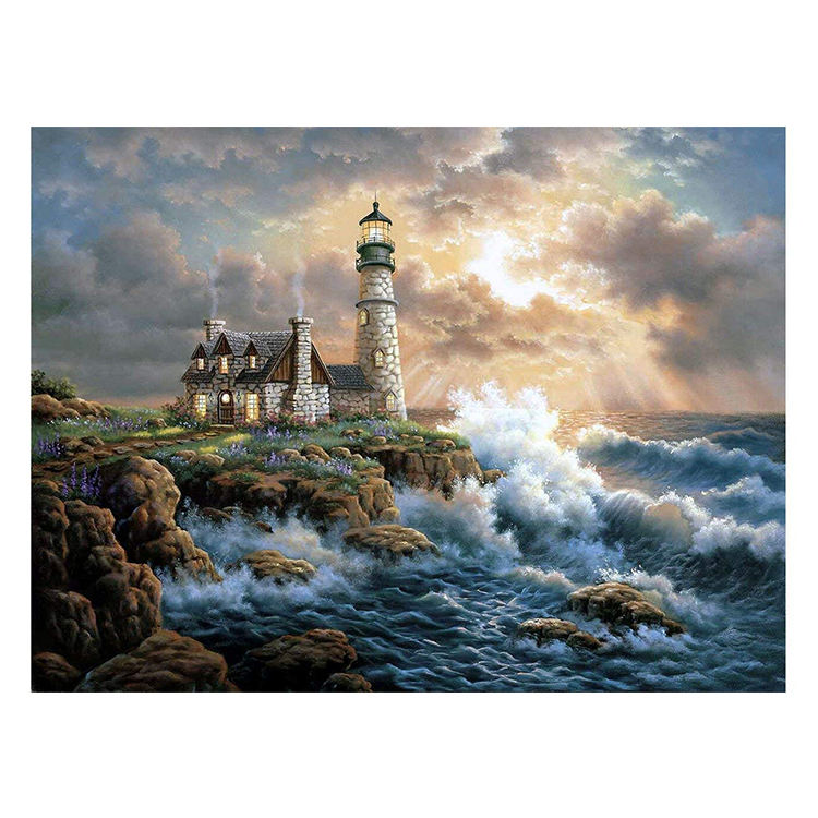 September time-limited activity shipping 90% off scenery short lint 5d diy diamond painting
