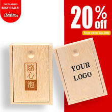 Pan cheap wood box custom logo packaging small sliding lid gift wooden tea box