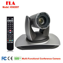 2MP 1080p50/60 20x Zoom HD IP 3GSDI DVI Video Conference PTZ Camera