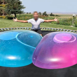 Outdoor Inflatable Bubble Balls Toy Transparent Bounce Balloon for Children