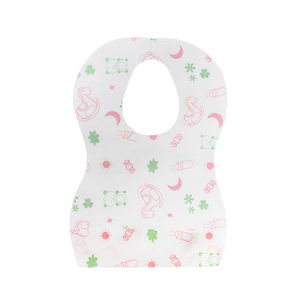 WD02-10 Manufactory Wholesale custom logo cheap cute baby bandana drool bibs