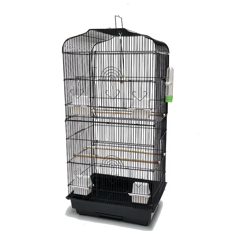 Birdcage budgerigar increased luxurious&large peony basalt villa bird cage myna large metal breeding cages house GP2011552AP
