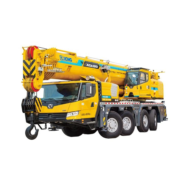 XCM 100 ton XCA100 Mobile Truck All Terrain Crane with Best Price