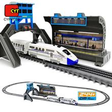 Classical Toy train Plastic Electric Toy Train Sets Train Track Toys