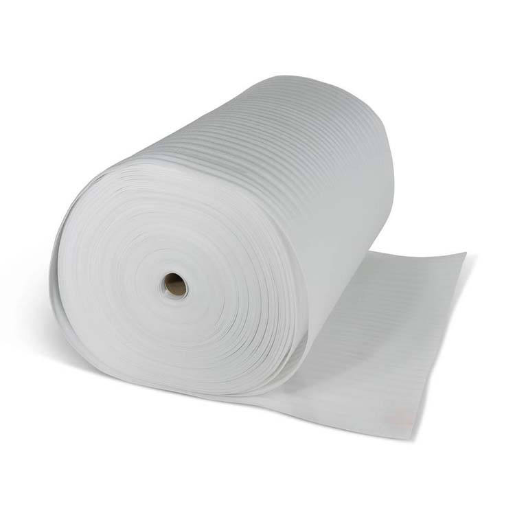 White Soft Packing Material EPE Foam Roll for protection