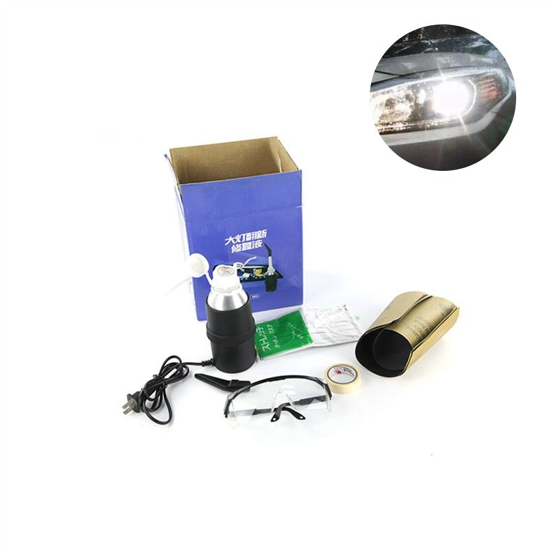 Car Headlight restoration Repair Tool Automotive Headlights Refurbished Polishing Restorer 12V Auto Care Tools Polish Headlight