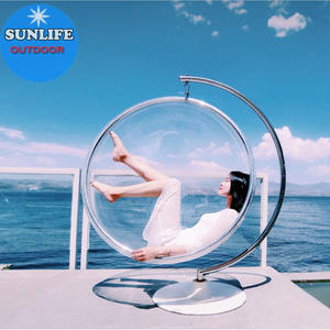 Best Selling Sun life indoor pink bubble chair 2018