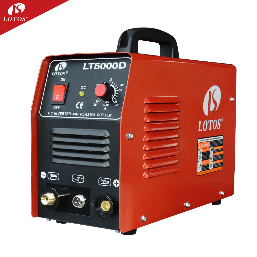 Lotos LT5000D gas 커터 토치 super cutting machine functional 플라즈마 커터 와 free 액세서리