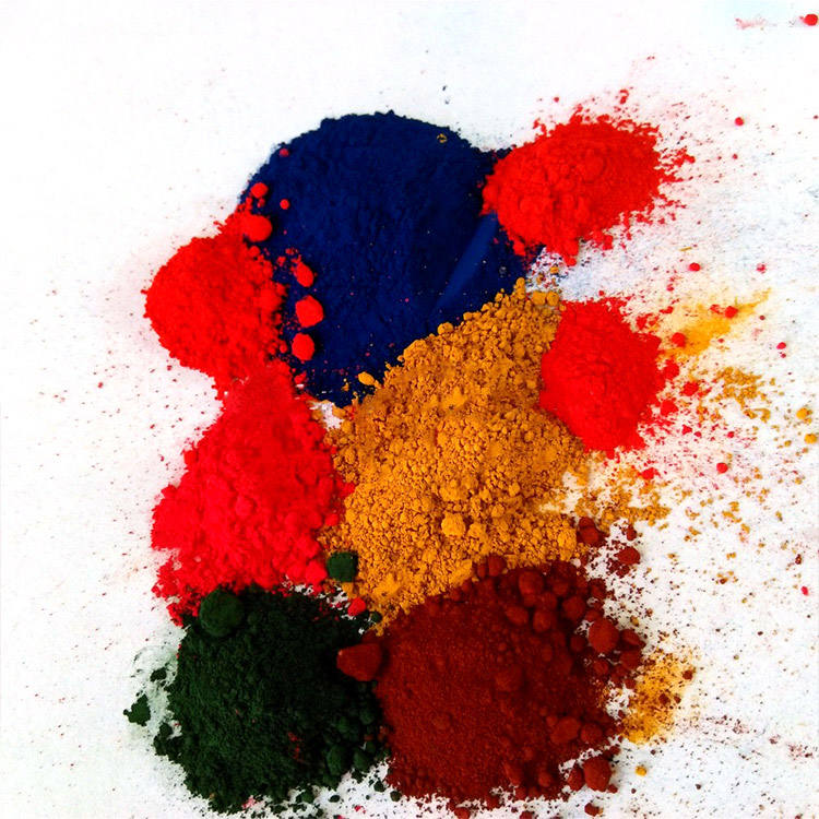 Red From Manufacturer Colour How Are Made Iron Oxide Pigments