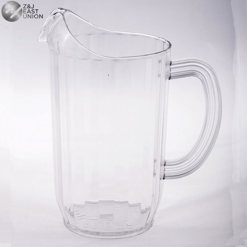 Hot Sale 32oz Unbreakable Plastic Beer Pitcher For Hotels