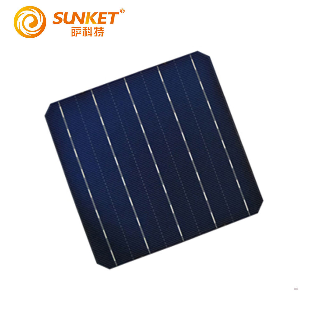Great quality energy-saving 6x6 156*156 156.75*156.75mm 5bb mono solar cell tab wire pv cells