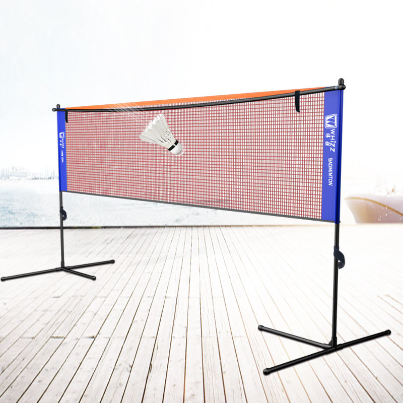 WHIZZ height adjustable 4.17M badminton racket net stand for outdoor or indoor
