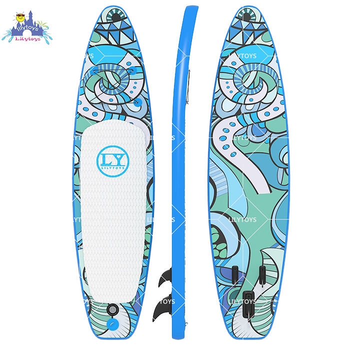 Pencetakan UV Papan Selancar Inflatable Paddle Board Stand Up Paddle Di Saham