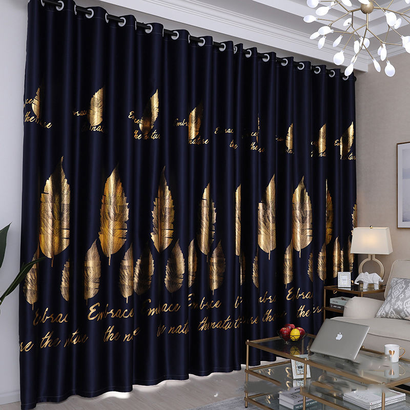 Decorativas Living Room Sets Blackout Kid Cortinas Precios,Wholesale Polyester Embroidered Curtain For Bedroom Set#