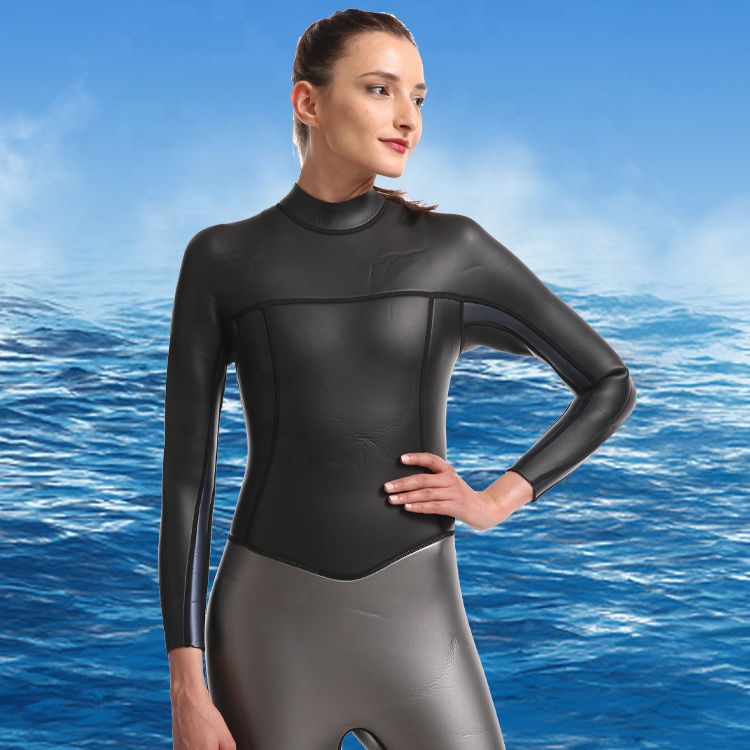 High Quality Long Sleeve Triathlon Smooth Skin Women Suit For Surfing
