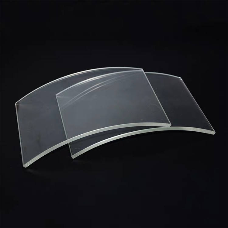 High Quality curved tempered glass For Curtain Wall