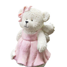 Wholesale best selling personality cute little bear resin piggy bank