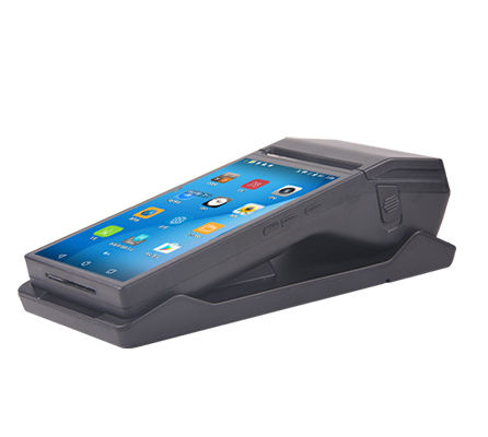 7-Inch Capacitive Touchscreen Met 80 Mm Thermische Printer Android Pos Systemen Handheld Kassa Terminal