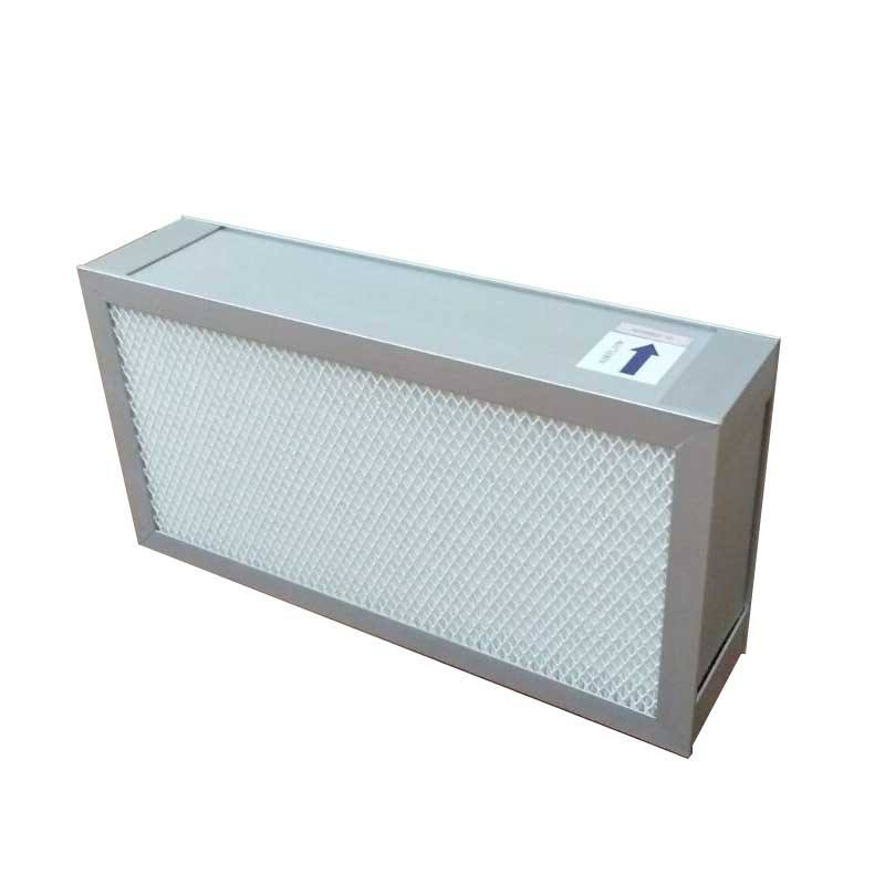 Mushroom Air Flow Hood Box Mini-pleated Hepa Filter h13 H14 24''x24''x2''