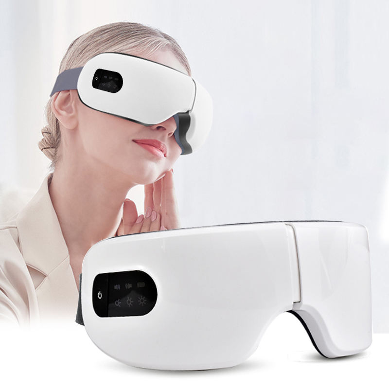 Eye Care Wireless Electric Mask Massage Smart Eye Massager With Music