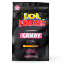 Custom Printed Storage Bags Smell Proof New Design LOL Edibles Candy  mylar bags