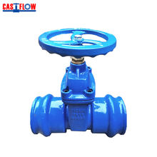 Ductile Iron Socket End Gate Valve for PVC