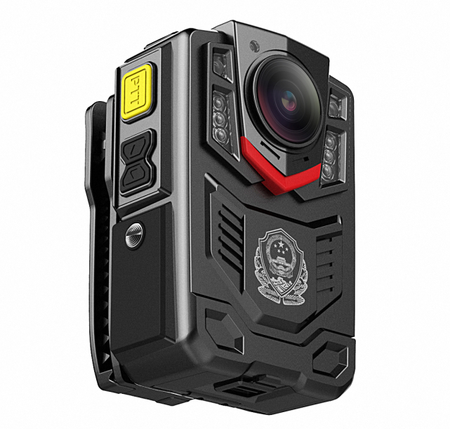 Night Vision IP66 Police wearable Camera body worn Video Camera Recorder With White Flashlight and Red Laser Pointer