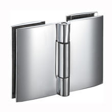 Shower cubicle Door Glass To Glass Double Side Free Folding Hinge