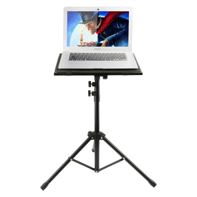 New Adjustable Laptop Projector Stand Portable Notebook Computer Tripod Stand Foldable DJ Equipment Floor Stand