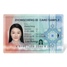 Custom Polycarbonate Ultra-Secured Anti-Counterfeit ID Smart Card