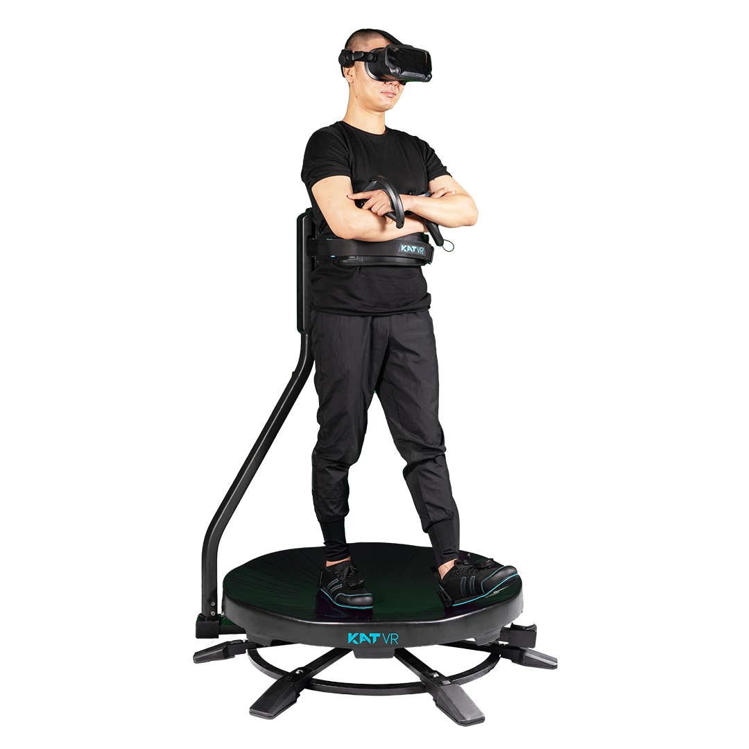 Natural Walking In Virtual Reality Omni-Directional Vr Treadmill For Sale